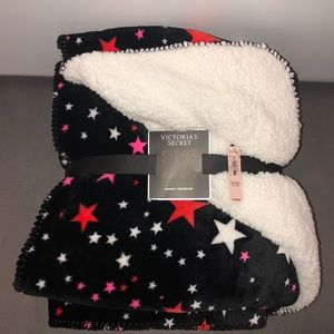 Victoria's Secret Sherpa Blanket ($68 retail) but